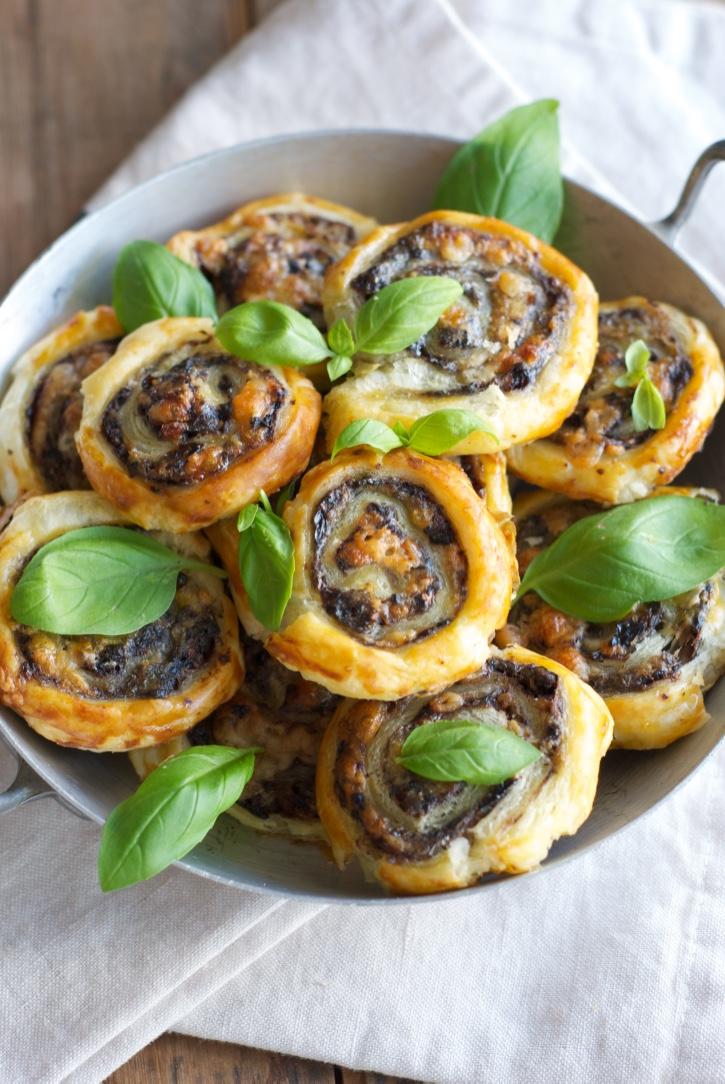 roules à la tapenade olive et sardines